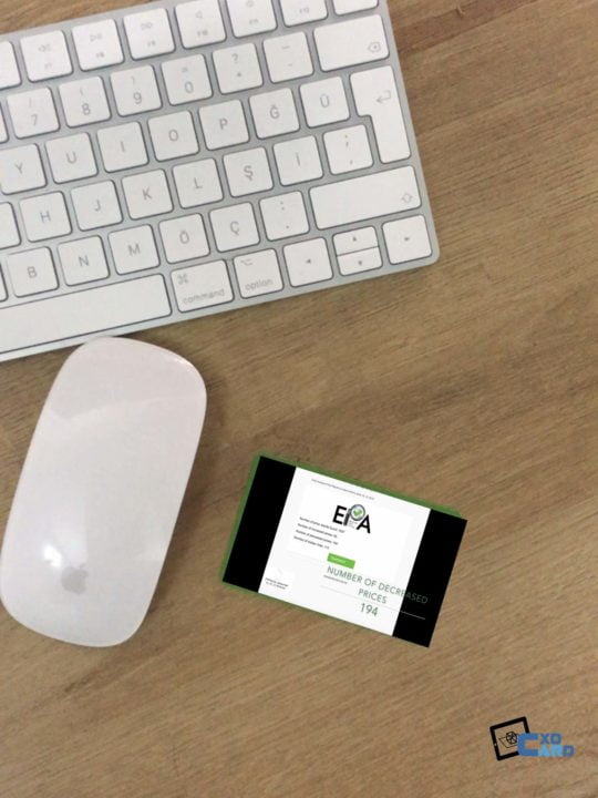 Augmented Reality in Business Cards