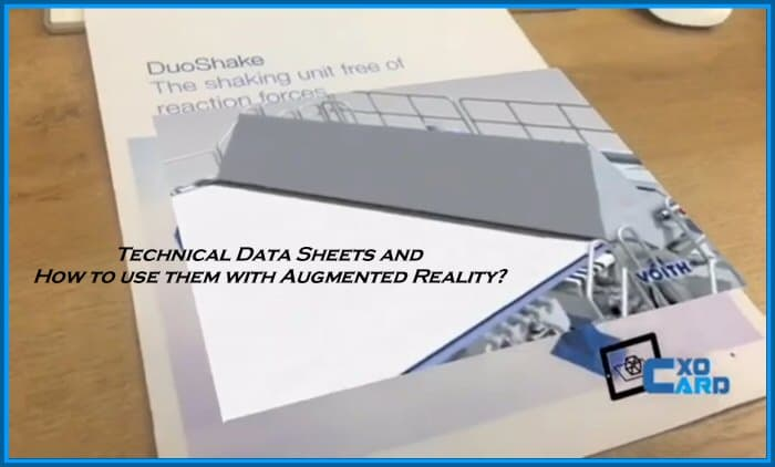 Augmented Reality enhanced Technical Data Sheets