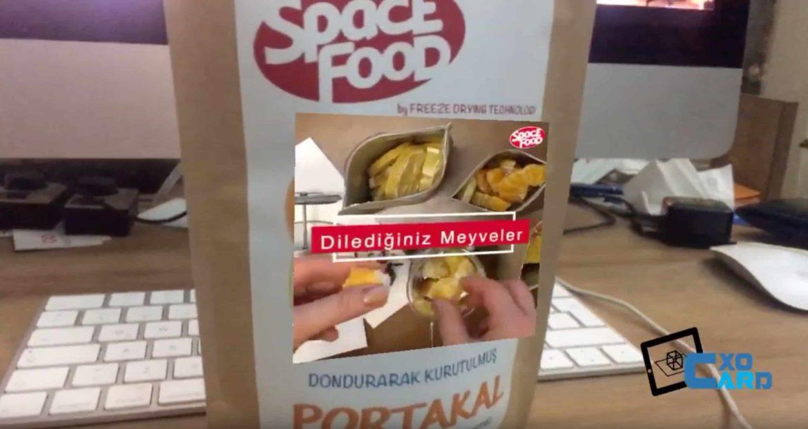 AR for food packaging