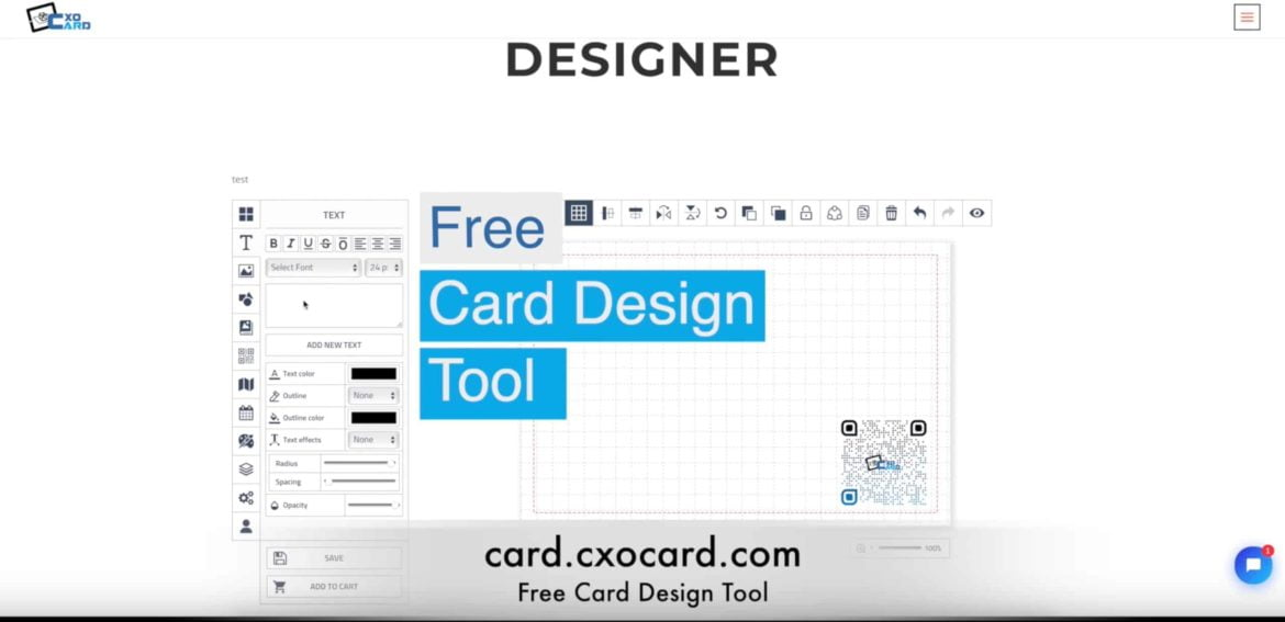 Free Business Card Designs from cxocARd