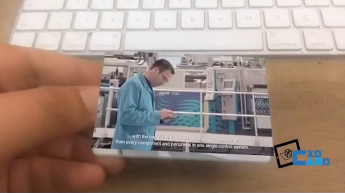 Business Card Augmented Reality