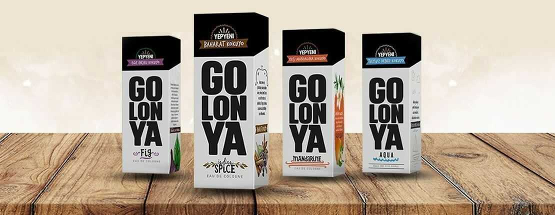 GOLONYA a new trend in scents