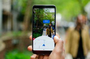 Augmented Reality Google