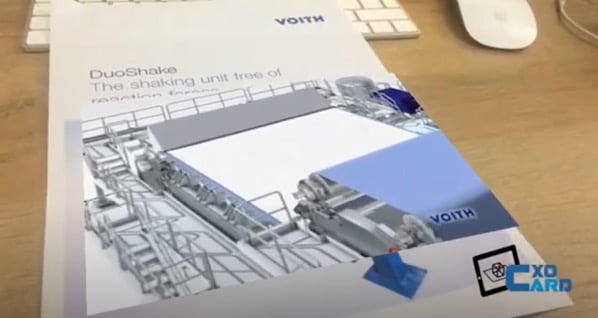 Augmented Reality for Technical Papers Cloud Based